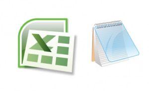 Обмен данными через TXT и Excel на ТСД